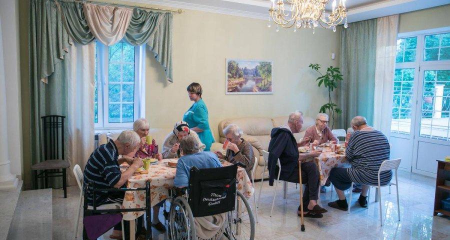 Дом престарелых Рига в Истре