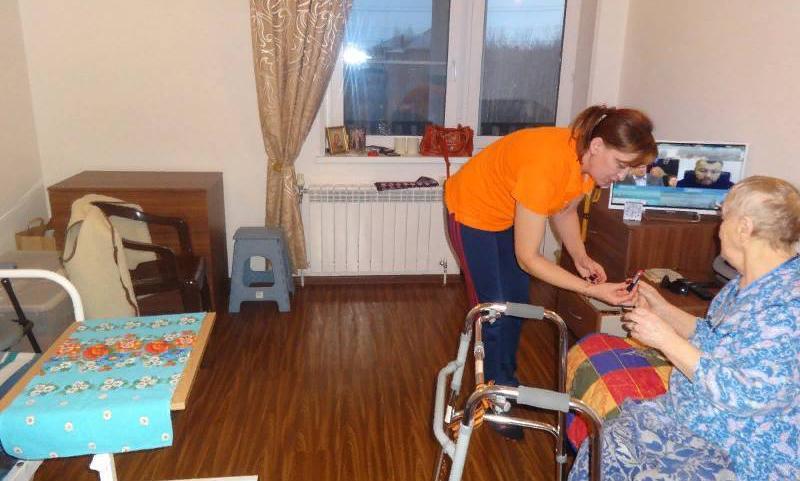 Дом престарелых в Осеченках