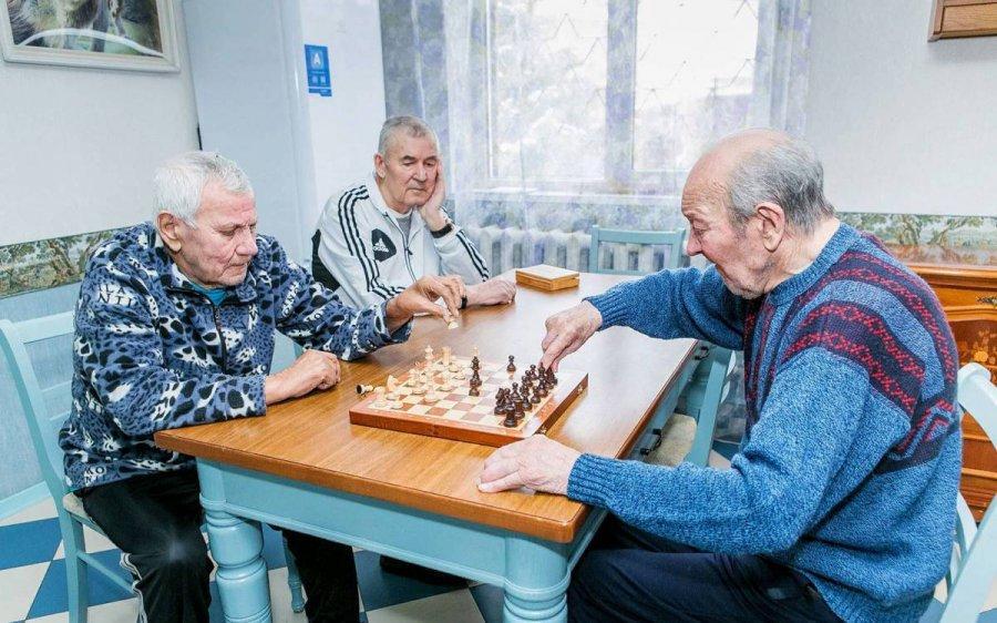 Пансионат для пожилых Северное Сияние Афанасово