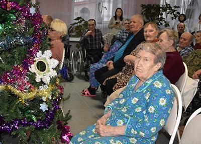Дом-интернат для престарелых в Михайловском районе