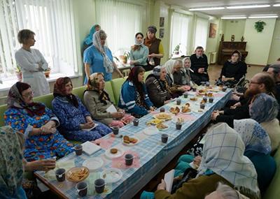 Дом-интернат для престарелых в Скопино