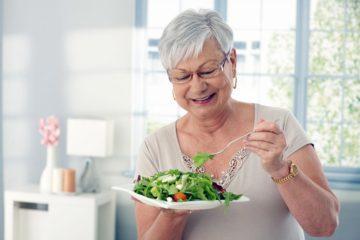 Правила похудения в пожилом возрасте