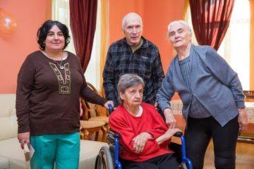 Сеть пансионатов по уходу за пожилыми людьми Осень жизни