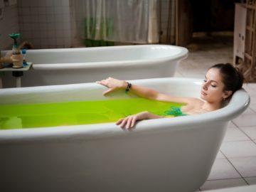 Хвойные и солевые ванны